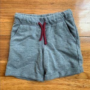 Grey Jersey Toddler Shorts